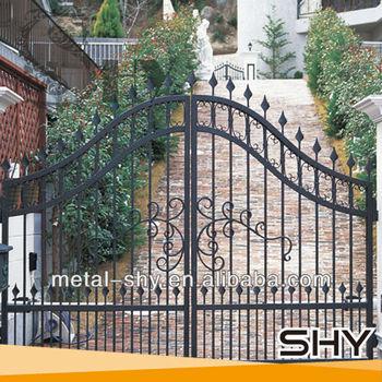 Modern Cast Iron Gate Design