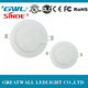 high quality Round 3W 4W 6W 9W 12W 15W 18W 24W ultra slim LED panel light