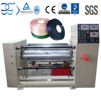 Thermal (Heatable) Slitting Machine for Woven label and other Textile Material Cutting