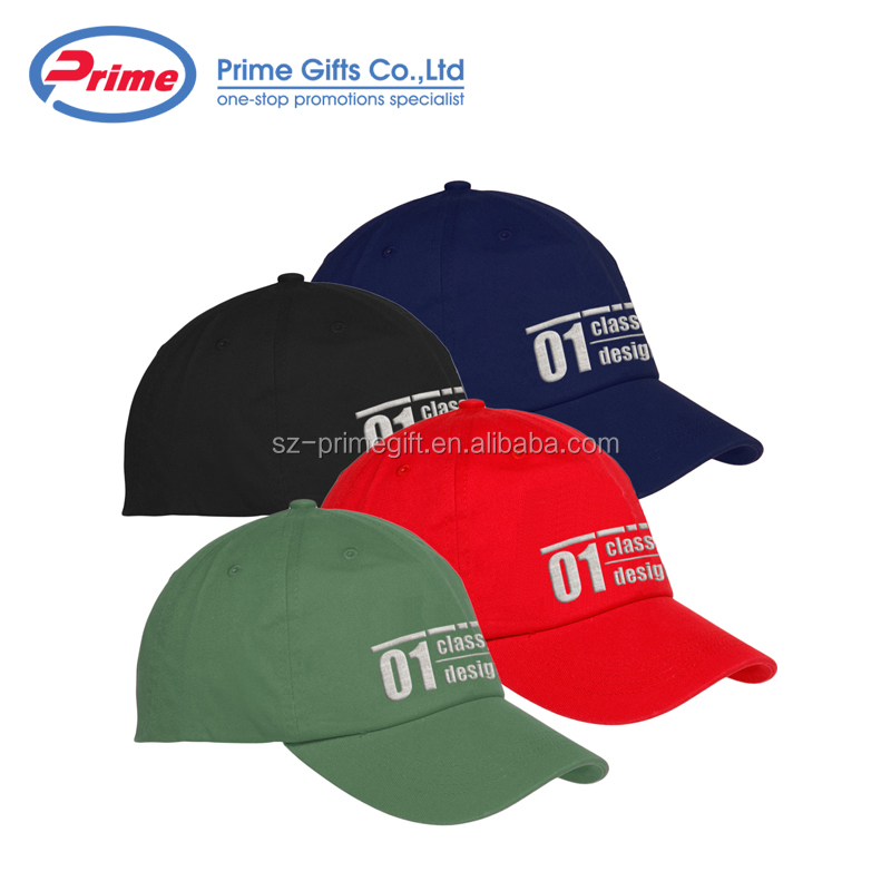 Custom Design Cotton Men Baseball Cap and Hat With Embroidery Logo