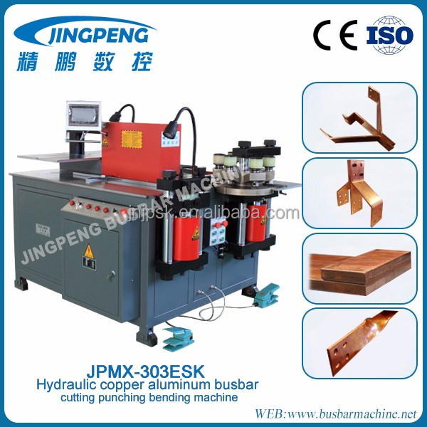 Multi working copper busbar bending machine