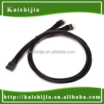10pin usb 20 ac97 hd audio internal header y splitter cable 10pin usb 20 ac97 hd audio internal header y splitter cable publicscrutiny Choice Image
