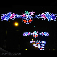 China suppliers outdoor christmas street light decoration for holiday