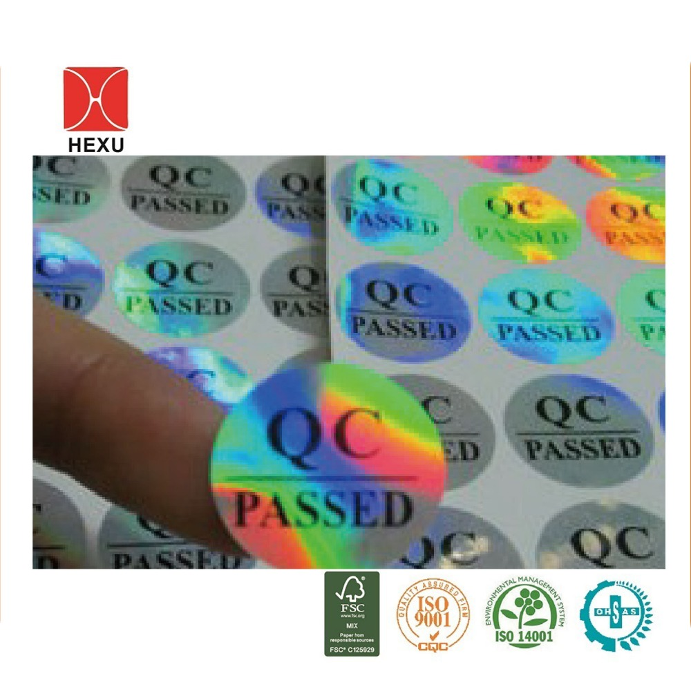 OEM Warranty Seal Laser Hologram Label Sticker One Time Use Only
