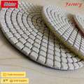 "4"" quality stone resin wet polishing pads for marble floor"