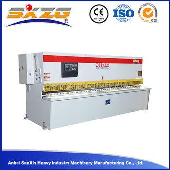 China Blue Color 3meters Desk Cutting Making Machine, 6mm Steel Iron Sheet  Galvanized Metal Sheet