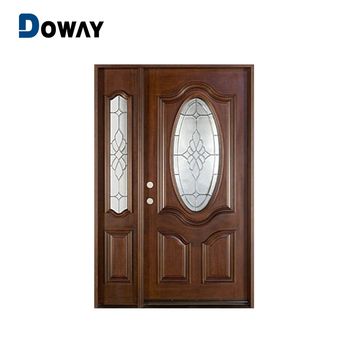South Indian Front Double Door Designs Wood Doors Polish Color