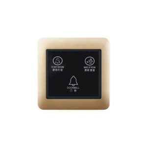 with doorbell hotel touch don't disturb switch