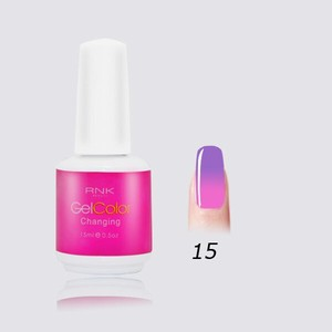 hot in Euro market nail gel polish base glue led uv color changing gel polish nail