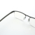 High quality mixed frame computer gaming glasses anti blue light glasses with case
