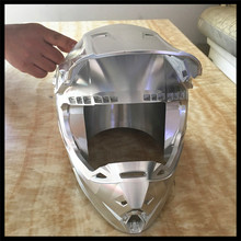 Professional custom available 5-axis linkage machining Transformers V helmet