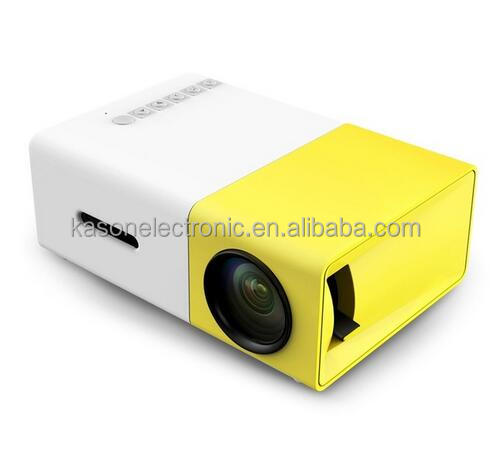 New Original YG300 LED Portable Projector 500LM 3.5mm Audio 320x240 Pixel HDMI USB Mini YG-300 Projector Home Media Player