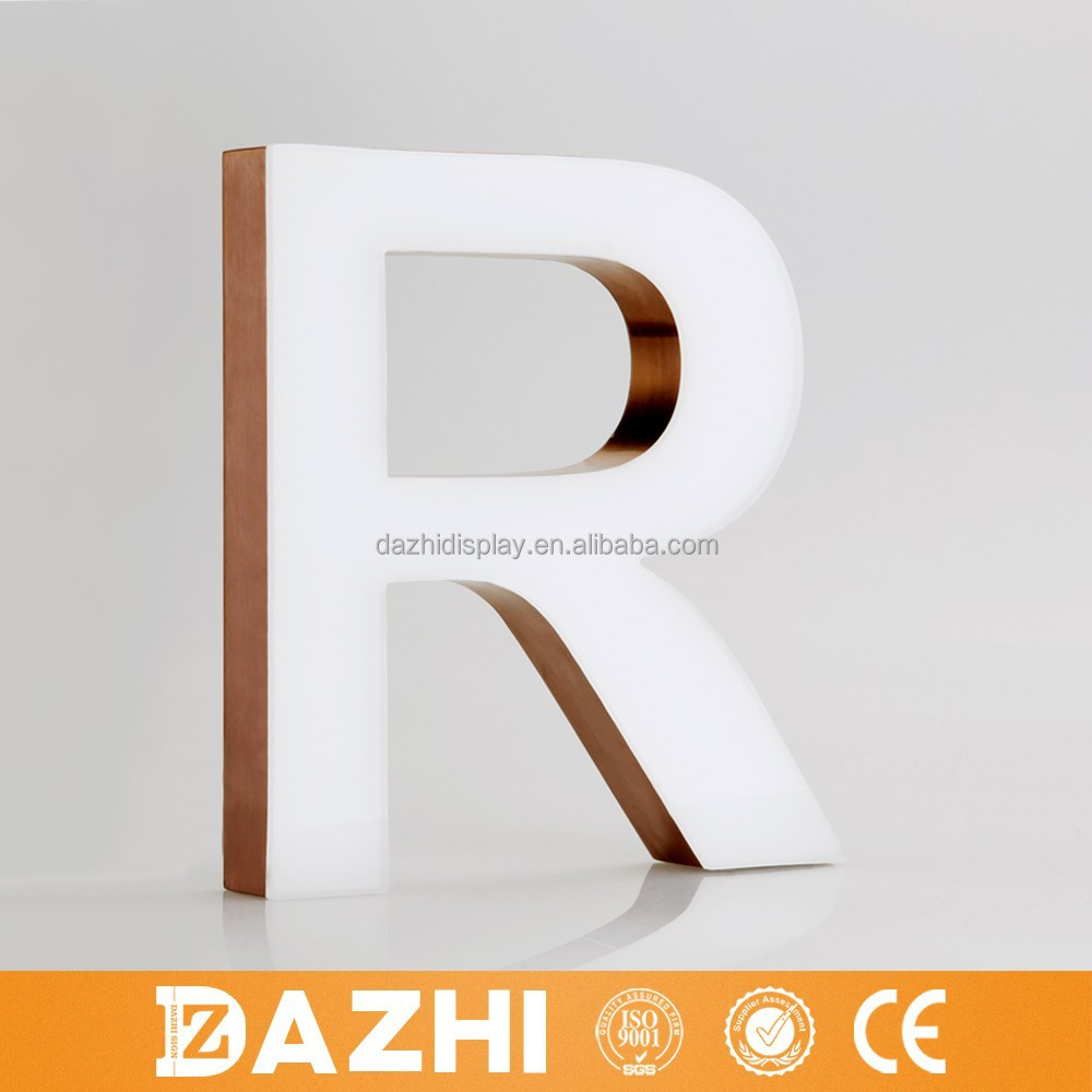 2015 new led crystal letter,modified gel letter in wholesale price