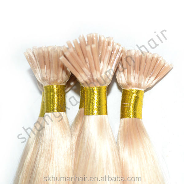 SHANG KAI Factory direct sale cheap price 5A 6A high quality 100% virgin remy hair i tip hair extensions