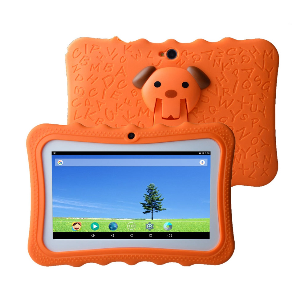 New Arrival Android 7 Inch RK3126 1024*600px 512MB RAM 8GB ROM Kids Tablet PC
