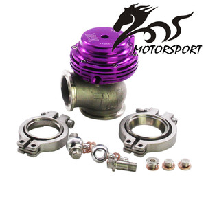 Water Cooler External Wastegate, V-banded 38mm MVS-A, Includes V-band flanges and clamps 38MM TIAL WASTEGATE