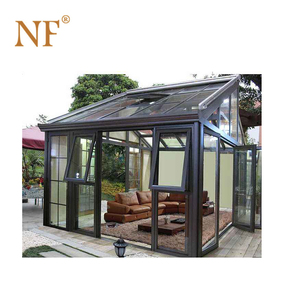 Aluminium sunroom/morden glass house/commerical garden room/greenhouse