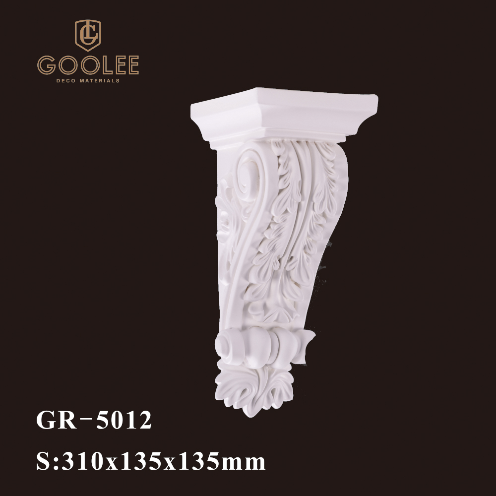 Goolee Architectural Ornamental Hand Carved Corbel For Exterior Wall Decor