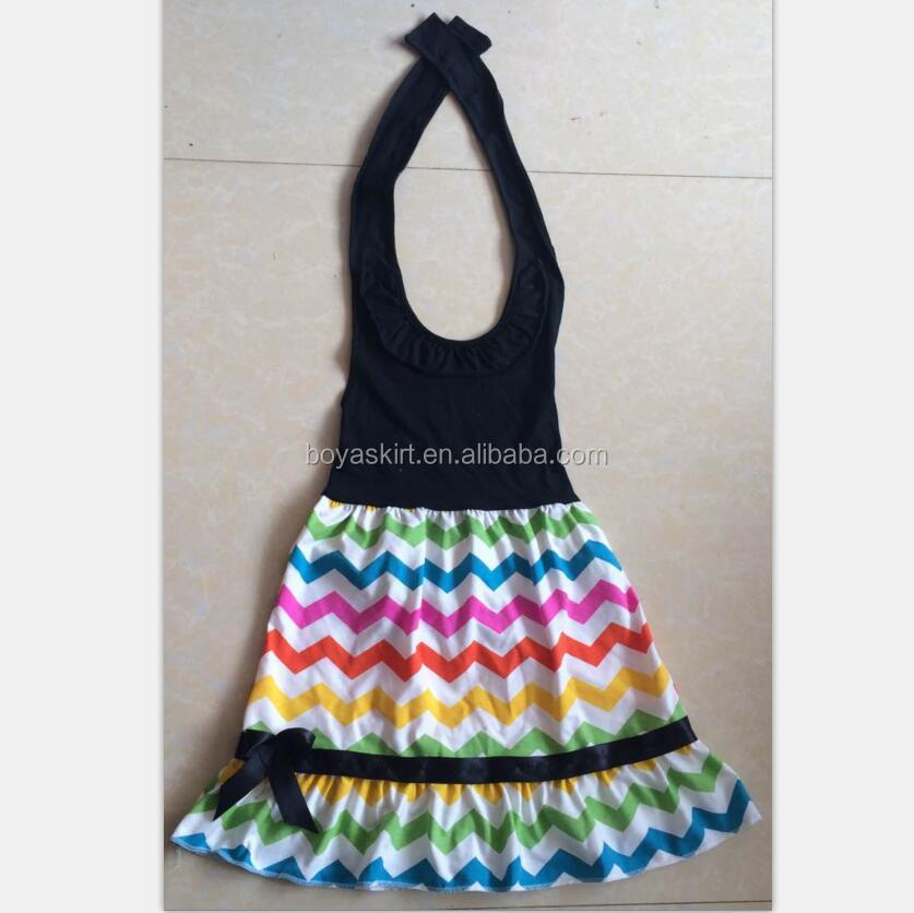 children clothes summer casual girls cotton dresses kids wears girl gown for party halter dress