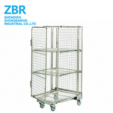 Moving Steel Logistics Trolley Roll Cage