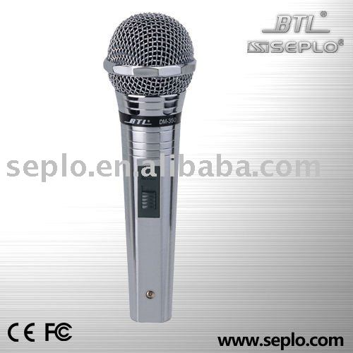 DM-350 Professional Wired Microphone