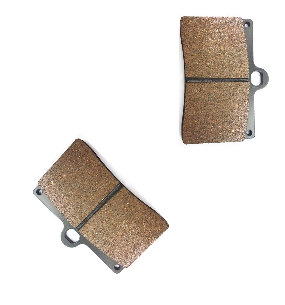 CNBK Front Left Brake Shoe Pads Semi-met fit MOTO-GUZZI Street Bike 1100 California Special 99 00 1999 2000 1 Pair(2 Pads)