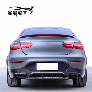 auto tuning part for Mercedes Benz GLC coupe body kit in carbon fiber