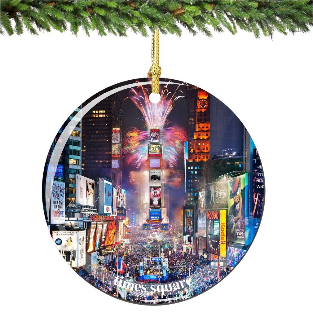 Buy New York City Christmas Ornament - Times Square North in Cheap ...