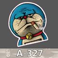 A 327 Doraemon Waterproof Fashion Cool DIY Stickers For Laptop Luggage Fridge Skateboard Car Graffiti Cartoon
