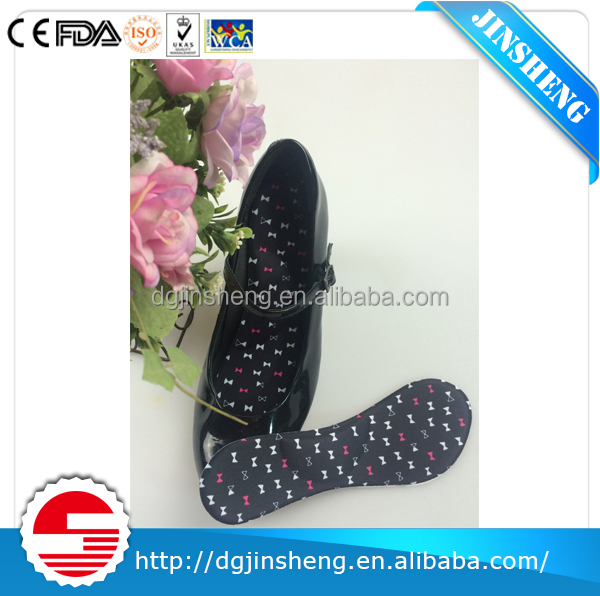 2017 balck cute insole orthotic for high-heel