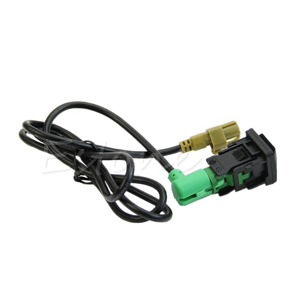 Oem USB переключатель кабель подходит для VW гольф JETTA SCIROCCO RCD510 RNS315 MK5 MK6