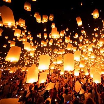 Chinese Terbang Lampion Outdoor Untuk Halloween Buy Terbang