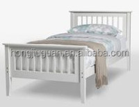 Solid pine wood toddler bed