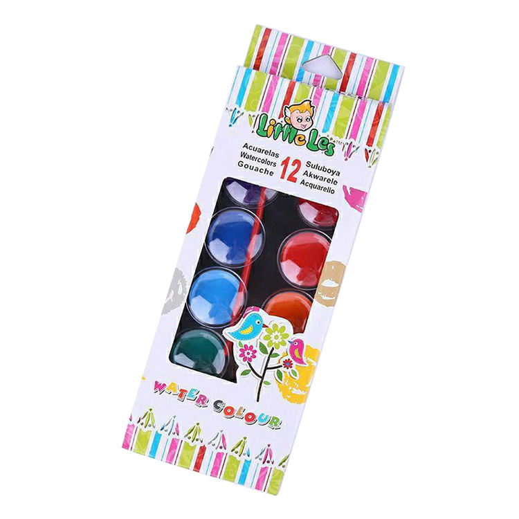 CU5102 12 Classic Poster Color Art Paint Set For Students ,  New Good quality fancy poster paint set