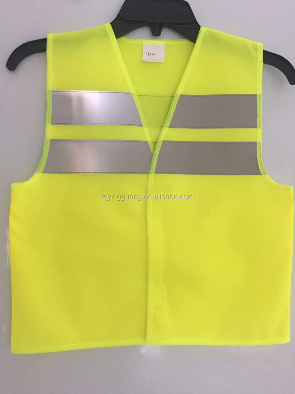 EN471 Safety Vest with Hi-Vis Reflective Tape and Velcor