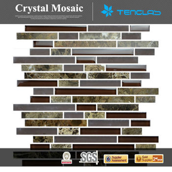 2014 wholesale cheap price shell stone ceramic marble glass mosaics