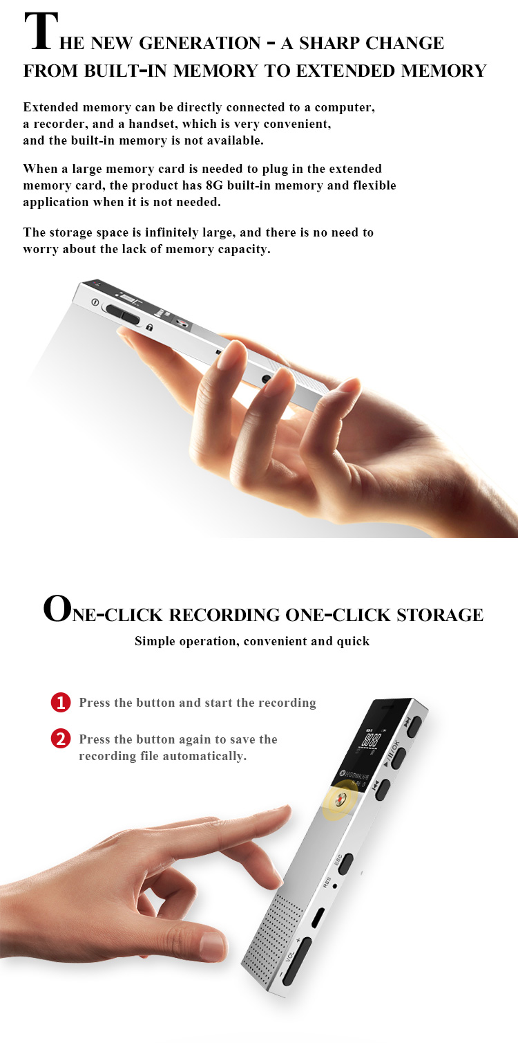 16gb multi function recorder pen customized digital voice recording pen