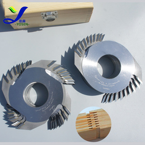 wood machinery tungsten carbide tipped finger joint cutter