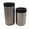 SANMENG Stainless Steel Thermal Insulated Beer Can Cooler Cup for 12oz 16oz