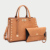 Sling Tote Bag Purse Personalized Lady Hand Hobo Fashion 2018 Tan Leather Woman Set Handbag