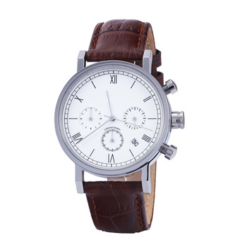 New design high quality water resistant wristwatches men luxury leather watch
