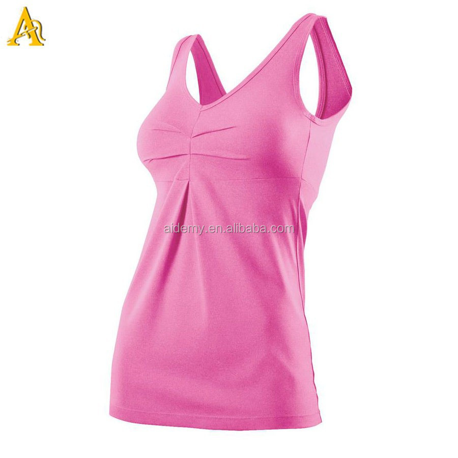 Custom Yoga/Gym Fitness Tank Top Sexy Clothing Women Sports Top