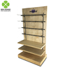 Exhibition flooring wood painted finish computer accessories display stand