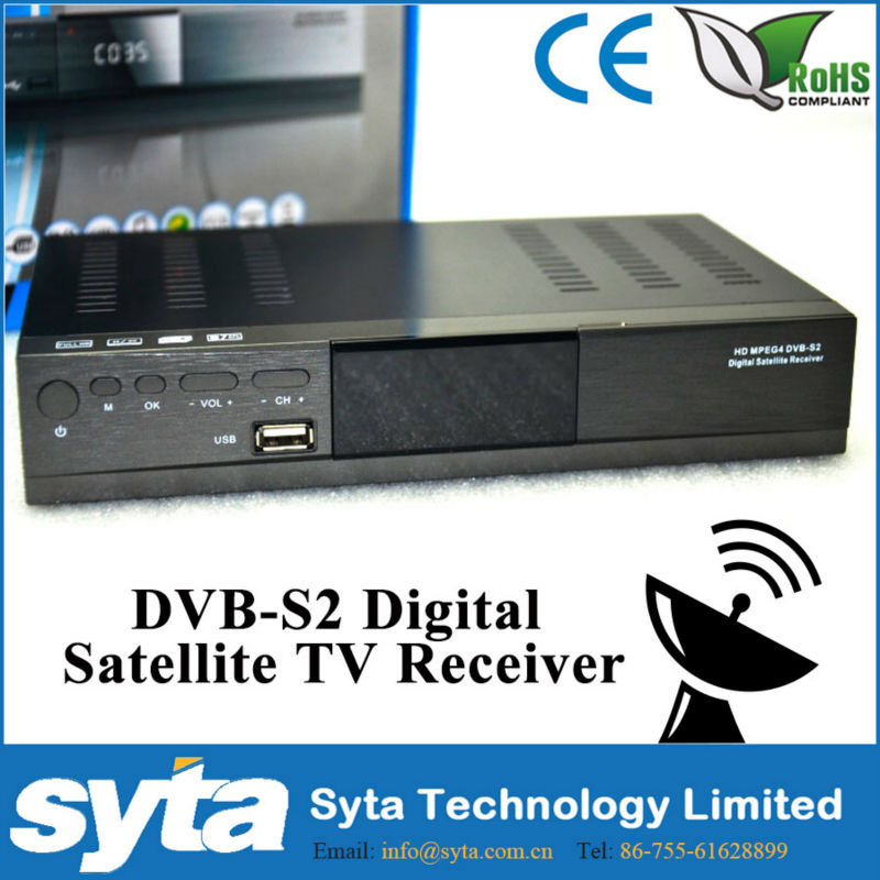 digitaler hdmi sat receiver DVB-S2 for Home S1024) SCPC & MCPC receivable from C/Ku band satellites