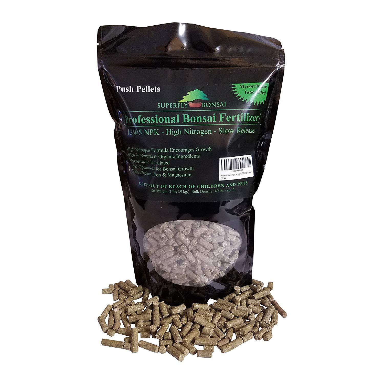 Professional Bonsai Fertilizer Pellets - Rich In Organic & Natural Ingredients - Slow Release Immediately fertilizes then over 1-2 months - House Plants Cactus & Succulents (2 Pound 12-4-5)