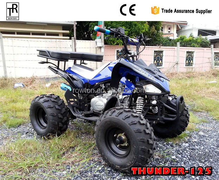 125cc manuelle quad atv beliebte bike 4 rad motorrad. Black Bedroom Furniture Sets. Home Design Ideas