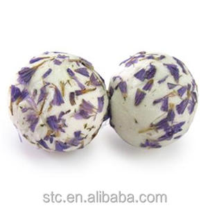 Dry flower wholesale fizzer bath bomb Rich in Shea butter detoxified salt and intoxicating scents