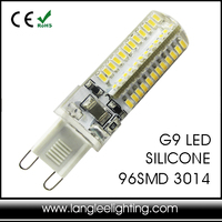 LED Lampa G9 Silicone LED Lamp 64SMD 3014 96SMD 3014 200-280LM