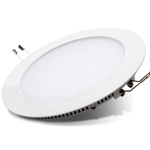 Diameter 300mm round LED panel light up and down double light