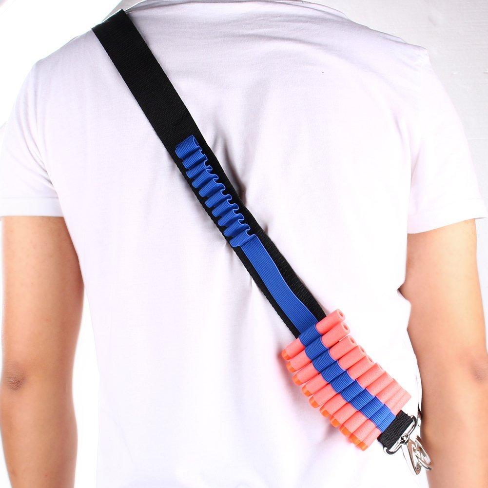 Bandolier Shoulder Strap Yosoo Bandolier Gun Bullet Belt Darts For Elite Nerf N-strike Blasters
